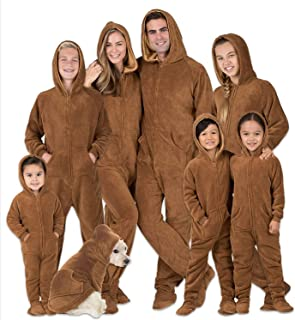 Family Matching Chocolate Brown Hoodie Onesies for Boys, Girls, Men, Women and Pets