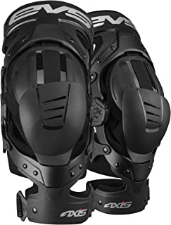 EVS Sports Unisex-Adult Axis Sport Knee Brace - Pair (Black, Medium, 2 Pack