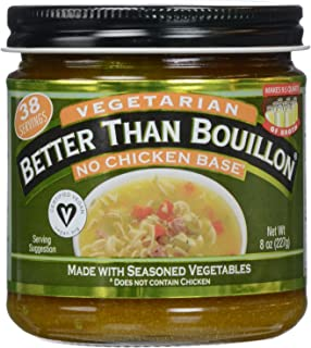 Better Than Bouillon, Bouillon, No Chicken Base, Vegetarian, 8 oz (Pack of 2)