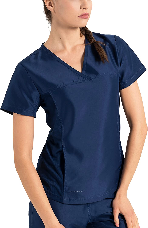 Rapid rise Direct store TiScrubs Women's Hidden Pocket Scrub Top