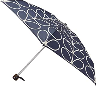PVC Dome Umbrella Orla Kiely Birdcage Linear Leaf Ink