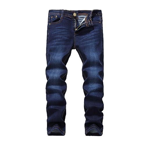 8ab2c959 FREDD MARSHALL Boy's Skinny Fit Stretch Fashion Jeans Pants