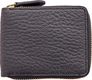Cole Haan Men's Saunders Bifold Zip Around Wallet - Black