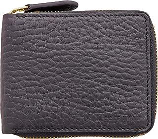 Cole Haan Men's Saunders Bifold Zip Around Wallet - Black