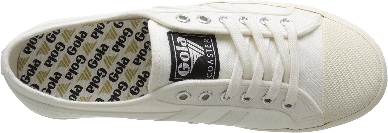 Gola Coaster, Baskets Basses Femme Ivoire Off White Off White Ww White