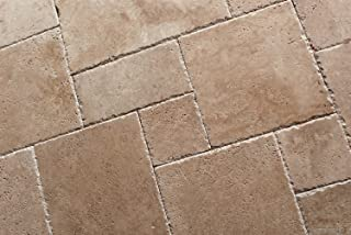 travertine unfilled tiles
