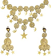 GIPSY SET NECKLACE/EARRINGS for Circus Fortune Teller Accessory