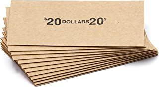 Eisenhower Dollar Flat Coin Wrappers, Solid, Bundle of 100