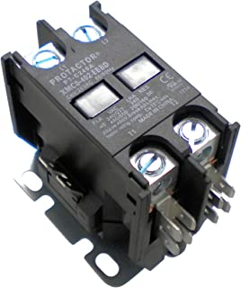 Protactor 2 Pole 40 AMP Heavy Duty AC Contactor Replaces Virtually All Residential 2 Pole Models