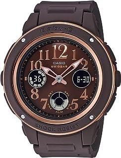 [カシオ] 腕時計 ベビージー ネイビー&ブラウン BGA-150PG-5B2JF レディース ブラウン