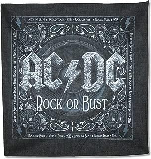 AC/DC - Bandana - RockOrBust Logo - Licensed New