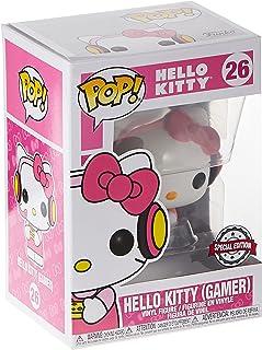 Funko Pop! Sanrio: Hello Kitty - Gamer Hello Kitty (Exc) Action Figure - 41050