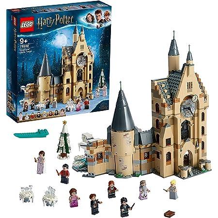 LEGOHarryPotterLaTorredell'OrologiodiHogwarts,GiocattoloCompatibileconiPlaysetdellaSalaGrandeeilPlatanoPicchiatore,75948