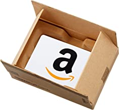 Amazon.com Gift Card in a Mini Amazon Shipping Box (Various Card Designs)