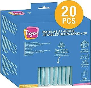 comprar comparacion Tigex Cambiador Desechable para Bebé | 20 unidades