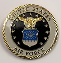 Air Force Challenge Coin W/Adhesive Back