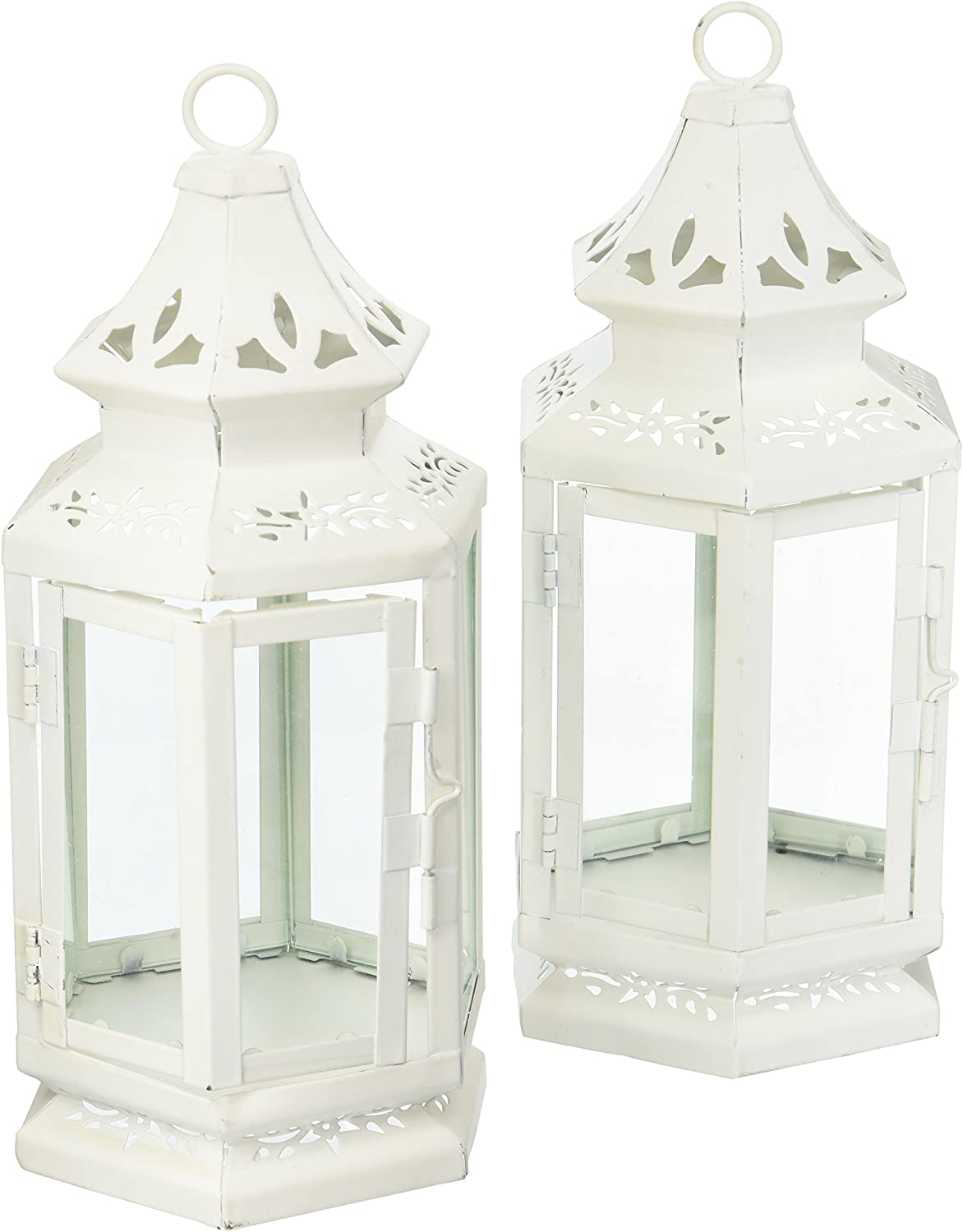 White Medium Candle Lantern 2 Special price for a limited time Popular products Set of