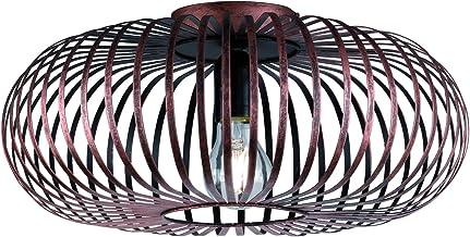 Trio Leuchten Plafondlamp Johann 606900162, metaal koperkleurig antiek, excl. 1x E27