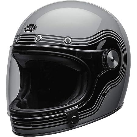 Bell Helmet Bullitt Dlx Flow Gray Black Xl Auto