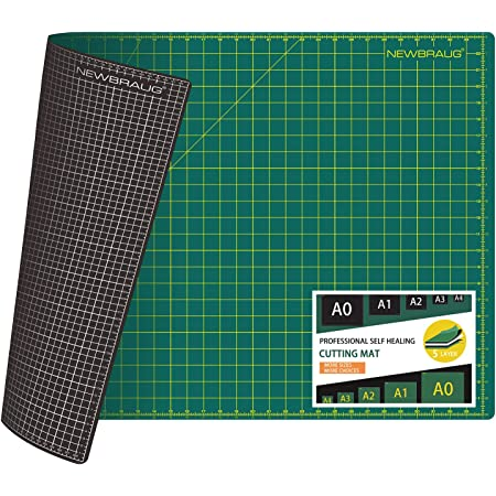 5 Layers for Max Healing Dahle Vantage 10670 Self-Healing Cutting Mat 1//2 Grid Black 9x12 Perfect for Crafts /& Sewing