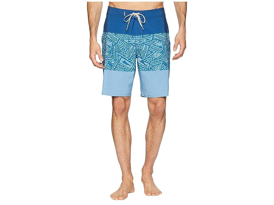 Quiksilver Waterman Liberty Triblock Boardshorts 20 (Monaco Blue) Men