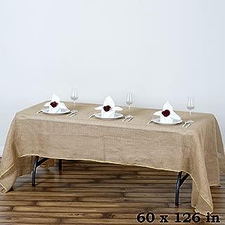 Best burlap look tablecloth Reviews