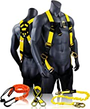 KwikSafety (Charlotte, NC) THUNDER KIT | 3D Full Body Safety Harness, 6  Lanyard, Tool Lanyard, 3  Cross Arm Strap Anchor ...