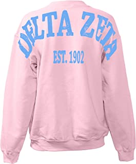 Delta Zeta Stadium Sweatshirt