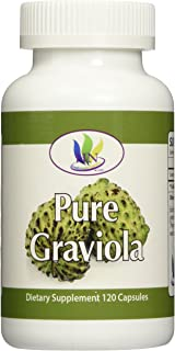 Fresh Health Nutritions Graviola 120 Capsules Bottle, 1300 mg