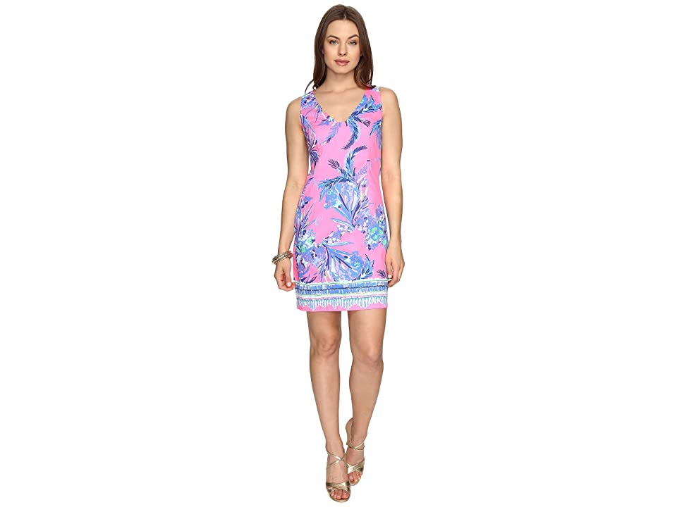 Lilly Pulitzer Tandie Shift (Tiki Pink Out On A Limb Engineered) Women