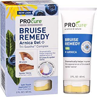Procure Bruise Remedy Gel 2 Fl Oz, Bruise Remedy Gel with Arnica, Helps Improve the Appearance of Bruises and Spider Veins...