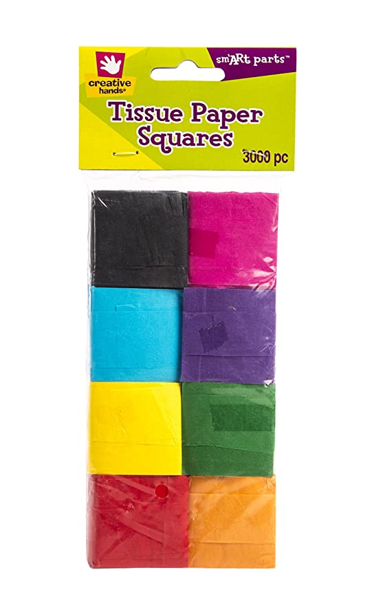 Fiber Craft Tissue Paper Pack, Multi Colored
