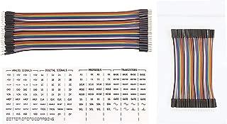Better Breadboarding LLC 80pcs Dupont Breadboard Jumper Wires (M-M, 4