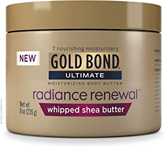 Gold Bond Radiance Renewal Cream, Whipped Butter, 8 Ounce