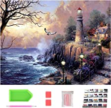 DIY Diamond Painting Kits, Arts and Crafts for Adults, Personalised Paint by Numbers for Kids, Crystal Art Kits for Beginn...