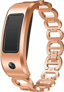ANCOOL Compatible with Vivofit 2 Bands Women Men, Replacement Luxury Accessory Stainless Steel Bracelet Adjustable Wrist Strap for Garmin Vivofit 2, NOT for Garmin Vivofit 3/HR/JR