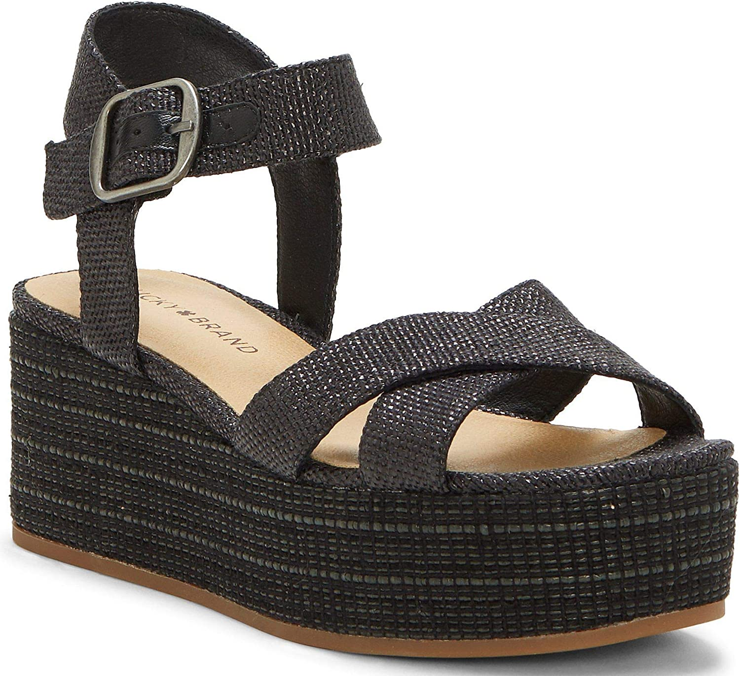 Ranking Max 71% OFF TOP2 Lucky Brand womens Wedges