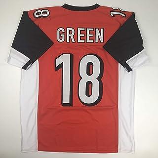 Unsigned AJ A.J. Green Cincinnati Orange Custom Stitched Football Jersey Size Men`s XL New No Brands/Logos