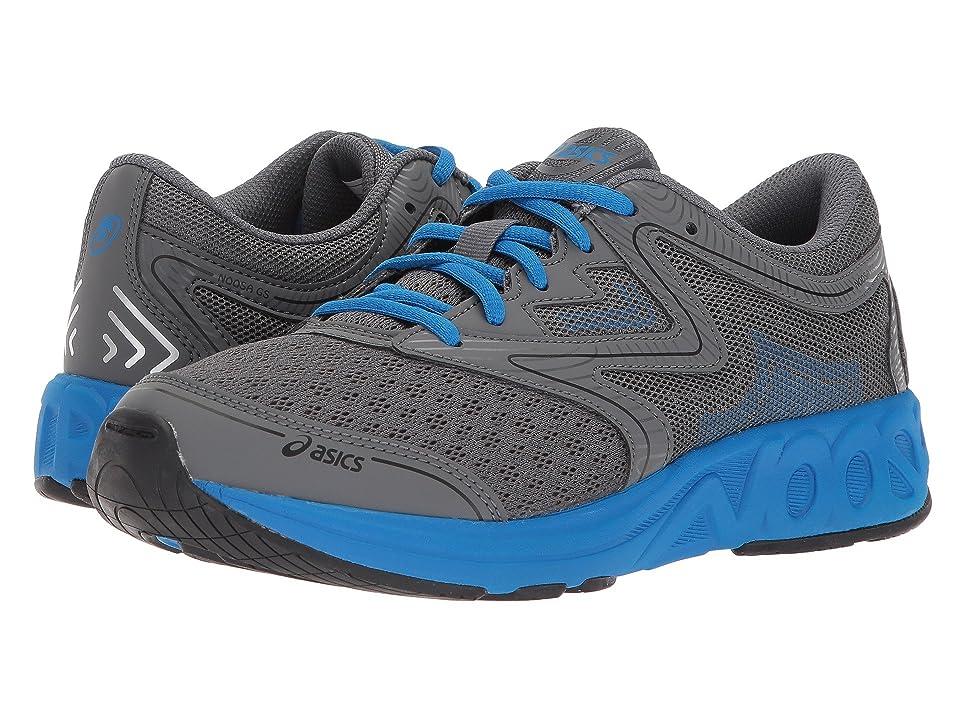 ASICS Kids Noosa GS (Big Kid) (Carbon/Blue/Black) Girls Shoes