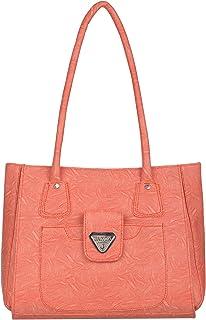 Janta PU Leather Women Shoulder Bag (Orange-3379)