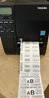 Toshiba B-EX4T1 Direct Thermal/Thermal Transfer Printer - Monochrome - Desktop - Label Print