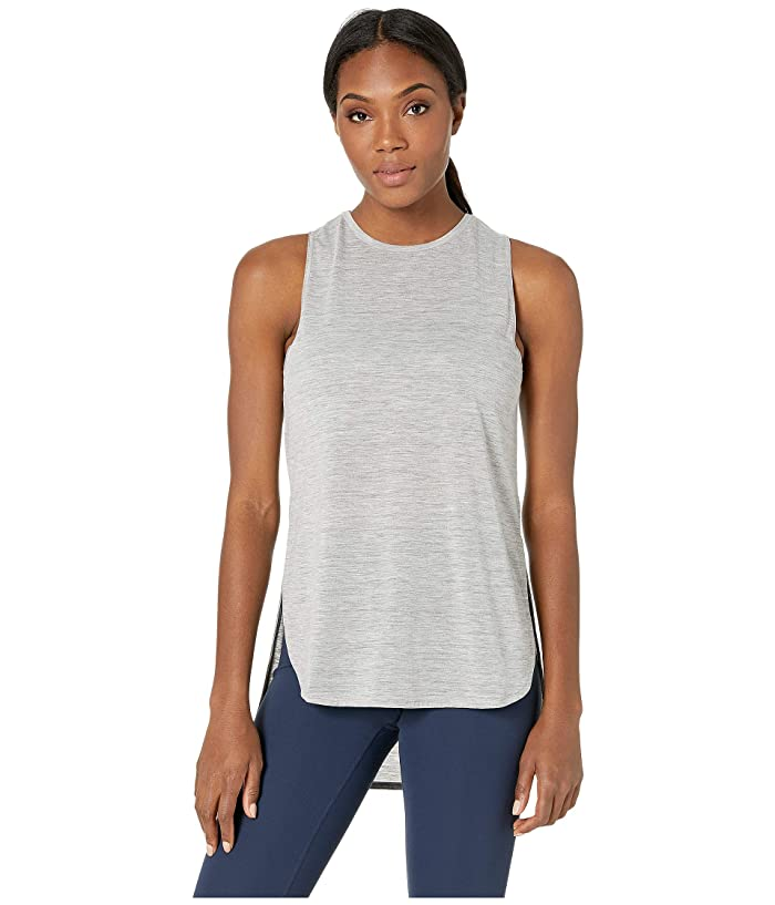 SHAPE Activewear Physique Hi Lo Tank (Heather Grey) Women