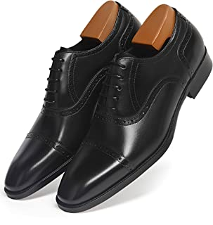 Best black leather oxford shoes mens Reviews