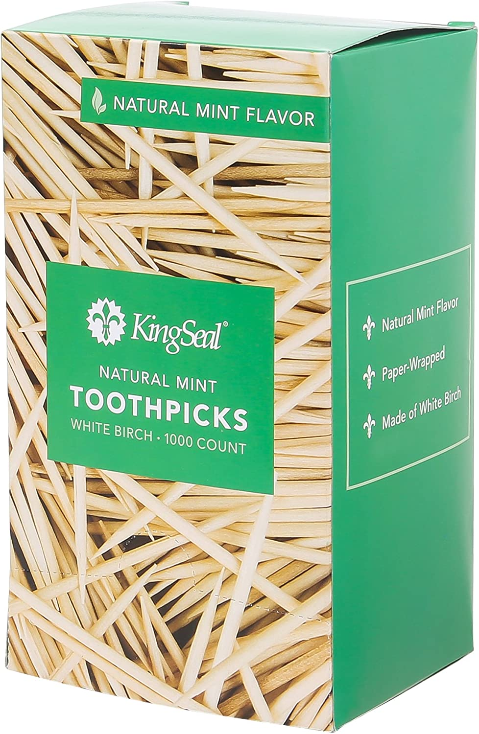 KingSeal 2.5 Today's only Inch Individually Paper Wrapped Toothpi Ranking TOP10 Flavor Mint