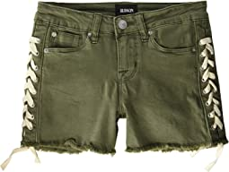 Bailey Shorts in Army Green (Big Kids)