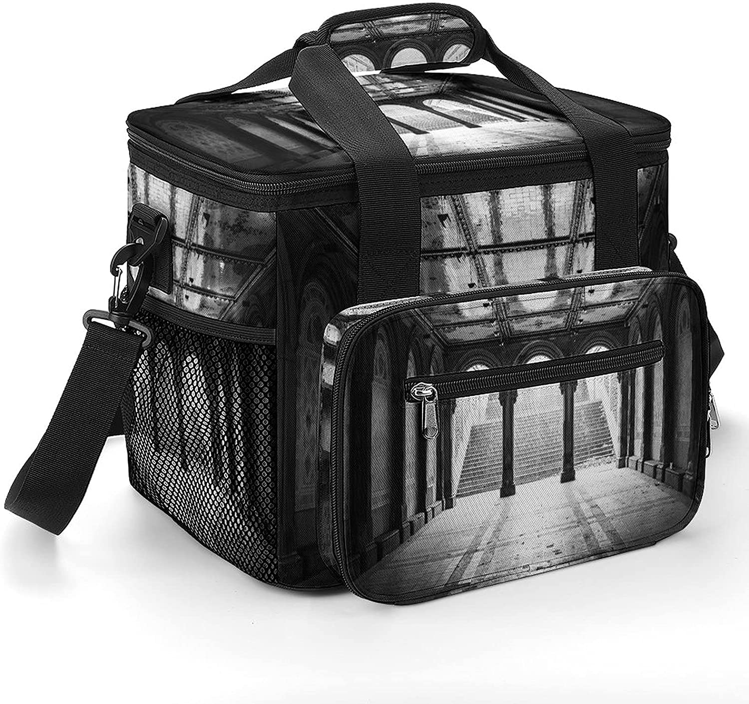 Black Beauty products and White Stairs Cooler Shoulder with Insulated Strap Bag Ranking TOP20