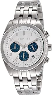 (Renewed) Esprit Analog Silver Dial Mens Watch - ES107581006#CR
