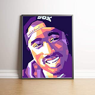 Tupac Limited Edition Poster Wall Art Wall Merchandise (Additional Sizes) (11x14)