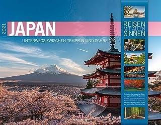 Japan Kalender 2021, Wandkalender im Querformat (54x42 cm) -