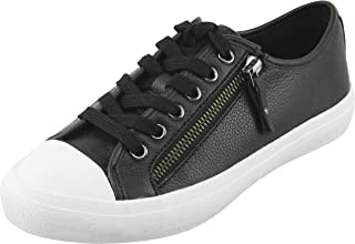 Coach Womens Empire Zipper Low Top Lace Up Fashion Sneakers